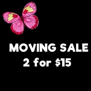 Moving Sale. 🌺2/$15🌺